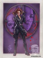 Black Widow by Jeffherndraw