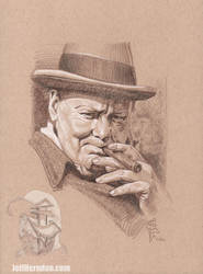 Churchill drawingweb by Jeffherndraw