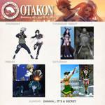 Otakon 2016 Lineup by AGlimpseOfMe