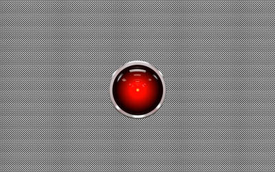 HAL 9000 silver dot by JanalTom