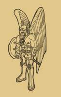 SKETCH JAM HAWKMAN by Luber-Lord