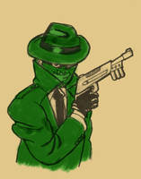 SKETCH JAM GREEN HORNET by Luber-Lord
