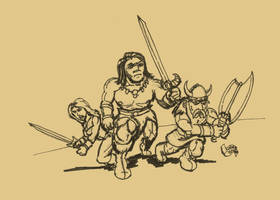 SKETCH JAM GOLDEN AXE by Luber-Lord