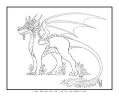 Ilasu's Dragon - Line by merit