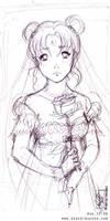 Usagi Sketch by merit