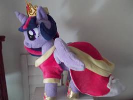 My Little Pony Princess Twilight Sparkle Alicorn by CINNAMON-STITCH