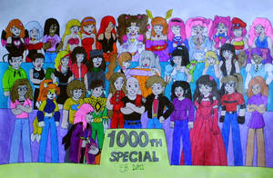 The 1000th Special by shnoogums5060