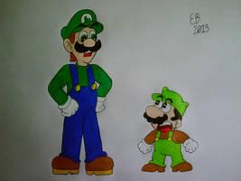 30 Years of Luigi by shnoogums5060