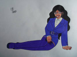 Anju's Corporate Pin-Up by shnoogums5060