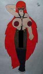 Masked Li Posing CENSORED by shnoogums5060
