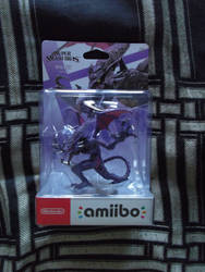 The Ridley amiibo Figure by shnoogums5060