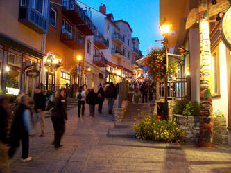 Evening at Mont-Tremblant by Mystic-Cat-Goddess