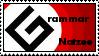 Grammar 'Natzee' Stamp by Robert777