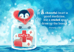 A Cheerful Heart by IngridTan