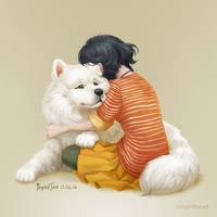 Hug by IngridTan