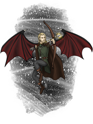Vlad the Tiefling for Kylee by Kentwothree