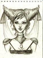 horn_girl by jazzmire