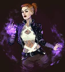 Mass Effect: Jack by jazzmire