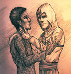 Malik and Altair by Tales-of-Torment