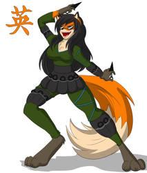 Zodiac Ally 4 Fox by dino222
