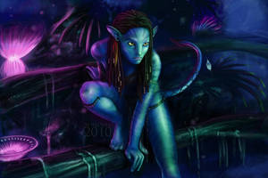 Avatar - Neytiri by FedeSchroe