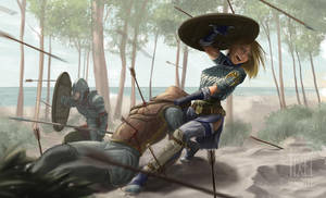 Loria into the Battle by FedeSchroe