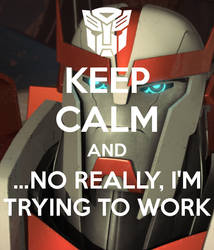 Ratchet Wants You to Keep Calm by a-paranoid-android