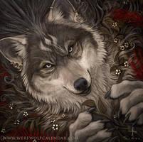 The Druid - Werewolf Calendar 2016 Promo by SimulDraws
