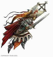 Pathfinder: Cavalier by SimulDraws