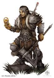 Pathfinder: Symbol of my Enemy by SimulDraws