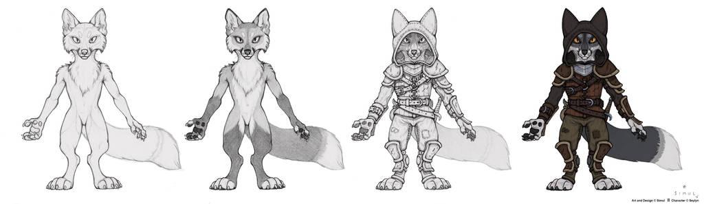 Foxy Thief by SimulDraws