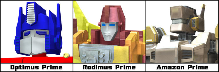 Meet The Primes by JHoagland