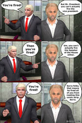 President 45 You`re Fired by JHoagland
