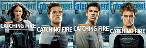 THG Catching Fire Entertainment Weekly Covers by nickelbackloverxoxox