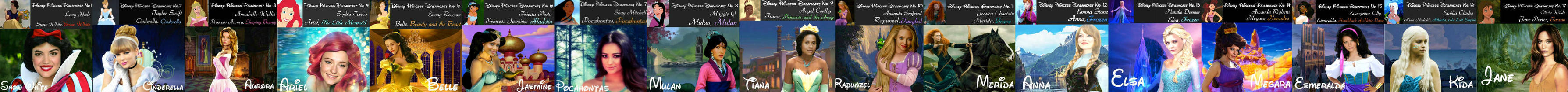 My Disney Princess Dreamcasts Banner by nickelbackloverxoxox
