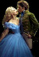 Cinderella and Kit-Cinderella 2015 PNG by nickelbackloverxoxox