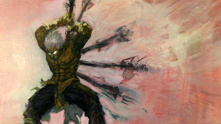 Asura's Wrath by jonathanvair