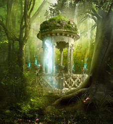 forest spirit by smilingnoface