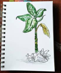 Plant doodle by KatyaHam