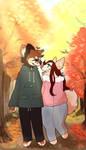[C] Leah and Toru by KatyaHam