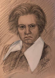 Beethoven Portrait by arasacer