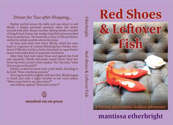 Red Shoes and Leftover Fish Cover Mock-up by vanilla-vanilla