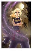 Buffy: 'Team Spike' Print by TonyFleecs