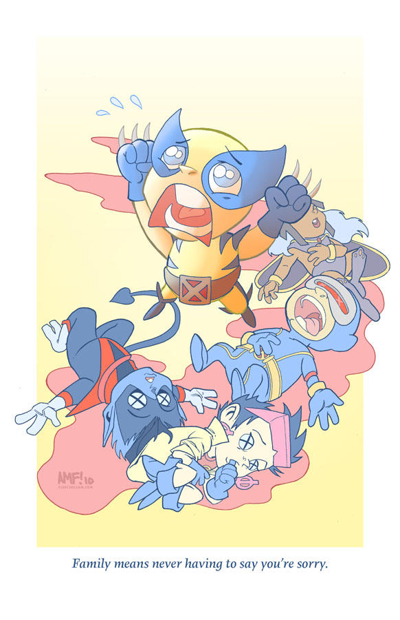 Adorable Tragedies1- Wolverine by TonyFleecs