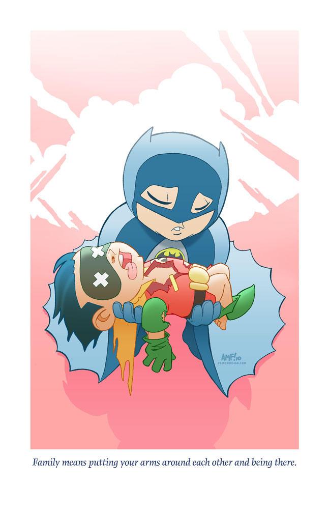 Adorable Tragedies2- Batman by TonyFleecs