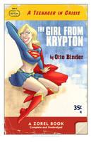 Supergirl Pulp by TonyFleecs