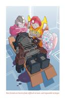 Adorable Tragedies 3- Optimus Prime by TonyFleecs