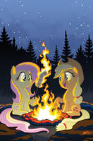 My Little Pony Friends Forever 23 Cover by TonyFleecs