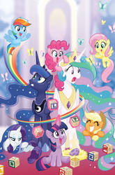 My Little Pony: IDW 20/20 Cover by TonyFleecs
