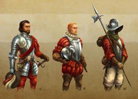 Conquistadores by 7leipnir